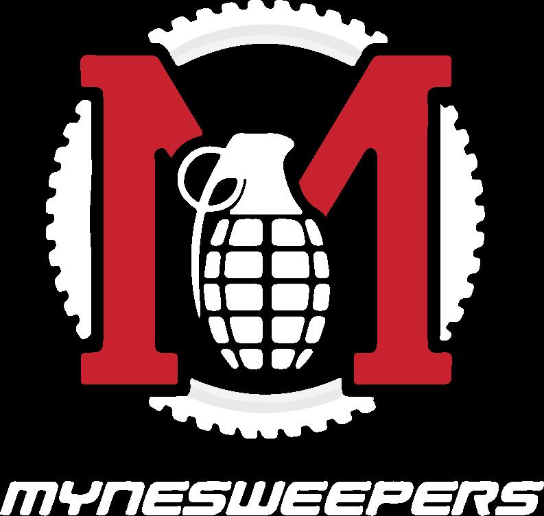 Mynesweepers Wheel Protection Logo